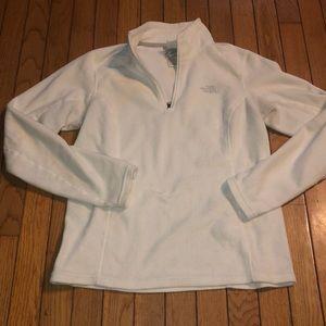 The north face half zip pullover sweatshirt